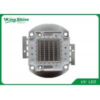 China Brightest 365nm UV Led Curing 50 Watt Led Chip With Long Lifespan on sale