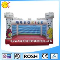 Outside Sewing Commercial Inflatable Bouncers With Jumping Bouncers Manufactures