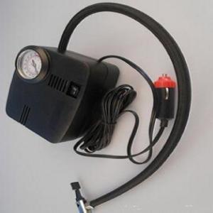 250psi Car Portable Air Compressor Plastic Material Black Color For Auto Tires Manufactures