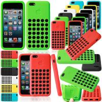 Cell Phone Protective Cases For iPhone 5C With Soft TPU Hollow Hole Dots Manufactures