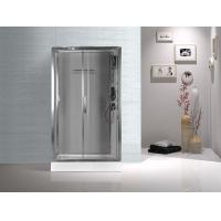 Tempered Glass Rectangular Shower Cabins , Sliding Door Shower Cubicles Manufactures
