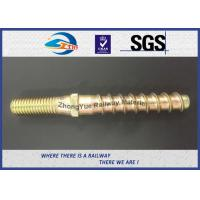 Hot Forging Railway Sleeper Screws Double End Special Track Bolt Customized Manufactures
