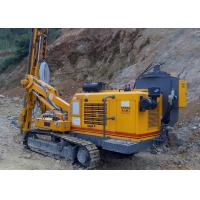 China Yellow Crawler Type Hydraulic Rock Dth Drilling Rig Machine 3 4 5 Speed 0.59M/s on sale