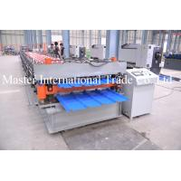 Quality Aluminum Roofing Sheet Roll Forming Machine Double Layle Metal Tile Making Machine In China for sale
