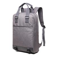 Quality Vertical Large Capacity Business Laptop Backpack Teenager With Matte Snow for sale