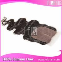 China Most popular products body wave silk base lace closure on sale