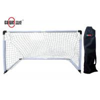 Lightweight PP Childrens Football Net , Weather Resistant Portable Soccer Goals Manufactures