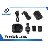 App Control Body Camera Recorder , Body Worn Camera With Night Vision Manufactures
