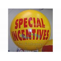 Quality Colorful Advertising Helium Balloons Customized Printed For Exhibition / Sport for sale