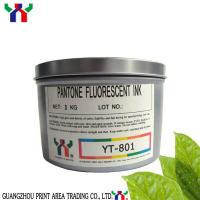 YT-802 UV fluorescent ink green color Manufactures