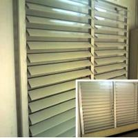 Quality Blind / Shutter Industrial Aluminum Profile , Louver / Jalousie Extrusion for sale
