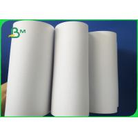 60gsm / 70gsm / 80gsm Uncoated White Paper In Reels For Excercise Book Manufactures