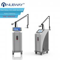 Ultra Pulse Co2 Fractional Laser Skin Tightening Machine 100um - 2000um Spot Size Manufactures