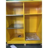 Flammable Goods Storage Cabinets With Earthing Socket For Combustible Liquid / Paint Manufactures