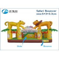 birthday party commercial rental party games safari bouncer inflatable trampoline Manufactures