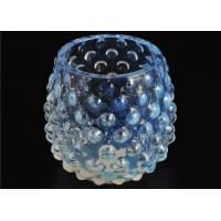 Votive Handmade Glass Candle Holders Colored 530Ml Capacity Elegant Manufactures