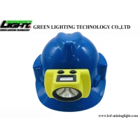 China 20000lux 6.8Ah Hight Battery capacity LED Wireless Headlamp with LCD USB charging Lamp on sale