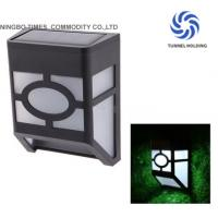 Garden Decorative Solar Wall Lamp Black Finish Solar Powered Outdoor Wall Lights Manufactures