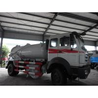North Benz brand 4*2 10m3  sewage suction truck for sale, sludge tank truck for sale, best price North Benz vacuum truck Manufactures