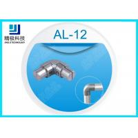 AL-12 Sandblasting Internal Connector Aluminum Weld Pipe Fittings 90 Degrees Inner Joint Manufactures