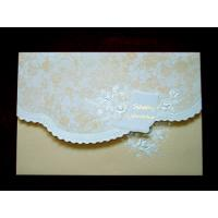 Buy cheap Handmade Hot Stamping Paper Custom Printable Greeting Cards For Birthday from wholesalers