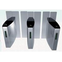 Full Height Sliding Turnstile Speed Gates, Stainless Steel Optical Turnstiles Speedlane Manufactures