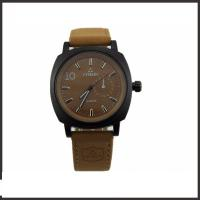 Coolest Luxury Men'S Quartz Watch , PU Belt Mens Casual Watches Shatter Resistant Manufactures