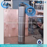 High quality AC or DC solar water pump manufacture in Luheng factory Manufactures