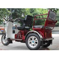 China Disc Brake Handicapped Three Wheel Motorcycle 125CC Engine Automatic Clutch on sale