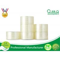 Permanent Carton Sealing Tape , 50mm Silent Custom Printed Tape Water Activated Manufactures