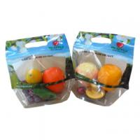 OPP Plastic Fresh Fruit Bags Transparent Plastic Package Zipper Containers PET Manufactures