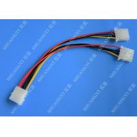 Molex 4 Pin To Molex 4 Pin Cable Harness Assembly Pitch 5.08mm For Computer 200mm Manufactures