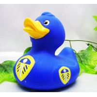 Football Club Team World Cup Rubber Duck Toy Eco Friendly Vinyl For Baby Shower Manufactures
