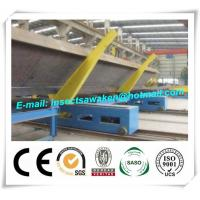 Professional Electric H Beam Welding Line 3000mm / Min Movement Speed Manufactures