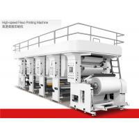 China Water Based Ink High Speed Flexographic Printing Machine 1200mm Max Material Dia on sale