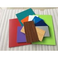 Various Colors Aluminum Composite Plate Waterproof With Nano PVDF Paint Manufactures