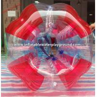 Quality Football Games PVC Inflatable Rolling Bubble Ball For Kids And Adult for sale