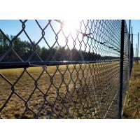 Black PVC coated Cyclone Fence Manufactures