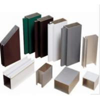 Anodized 6063 Construction Aluminum Profile Extrusion Customized Sections Manufactures