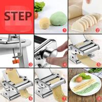 Quality Hand-operated Dough Pressing Machine Food Processing Equipments Easy to clean for sale