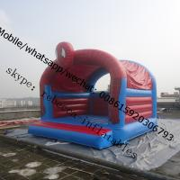 Inflatable spiderman boucer  inflatable jumping castle   bounce house superhero bounce houses Manufactures
