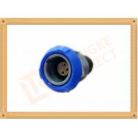 Round Push Pull Female 4 Pin Circular Connector For Blood Pressure Monitors Endoscopes Manufactures