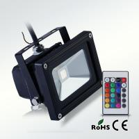 Aluminium 10W RGB led floodlight remote controller Manufactures