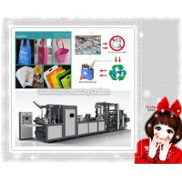 Non Woven Fabrics T shirt Bag Making Machine Manufactures