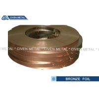 Twinkle and Cleaning Degrease Treated Bronze Foil Sheet  Roll Strip Manufactures