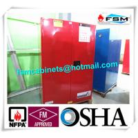90 GAL Safety Fireproof Paint Storage Cabinets Dual Vents For Industrial / Chemical Manufactures