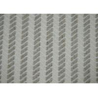 Herringbone Jacquard Material / Cotton Blended Fabric No Harmful Substances Manufactures