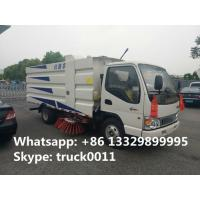 2017S total new JAC brand 4*2 LHD small street sweeper truck for sale, best price JAC brand 3tons road sweeping vehicle Manufactures