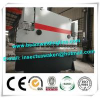 High Strength CNC Hydraulic Press Brake Machine 3 Phase 380V / 50hz Manufactures
