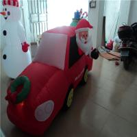 PVC Big Inflatable Christmas Snowman Customized For Decoration Manufactures